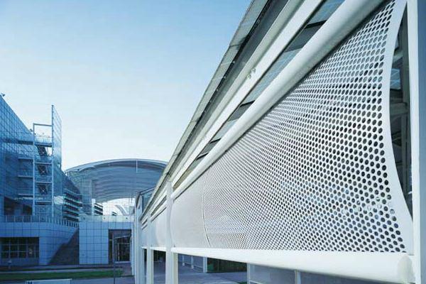 Услуги изготовления перфорированного фасада