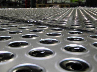 Услуги перфорации листового металла цена